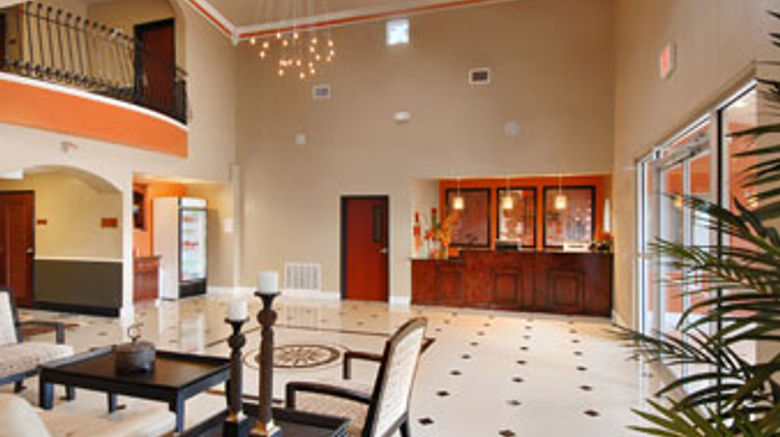Days Inn  and  Suites Groesbeck Lobby
