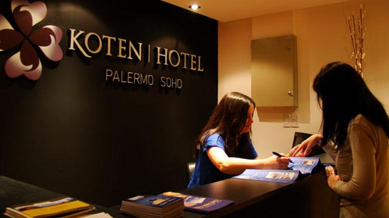 Koten Hotel Lobby