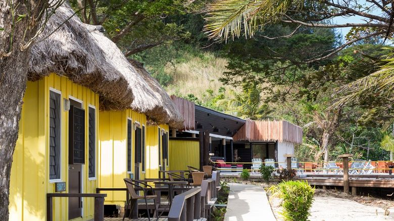 Funky Fish Beach and Surf Resort Exterior
