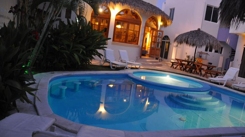 Hotel Posada Eden Costa Pool