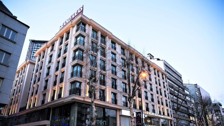 Grand Aras Hotel  and  Suites Istanbul Sisli Exterior