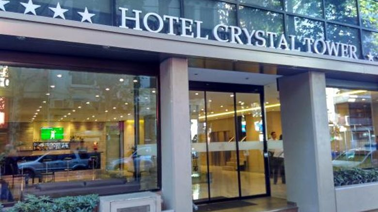 Hotel Crystal Tower Exterior