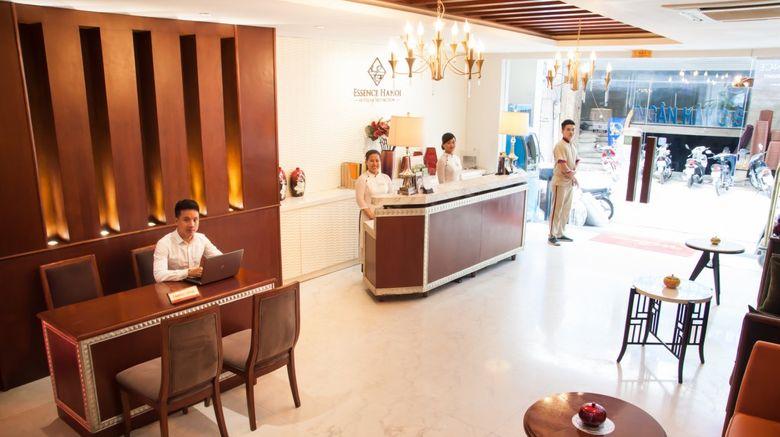 Essence Hanoi Hotel  and  Spa Lobby