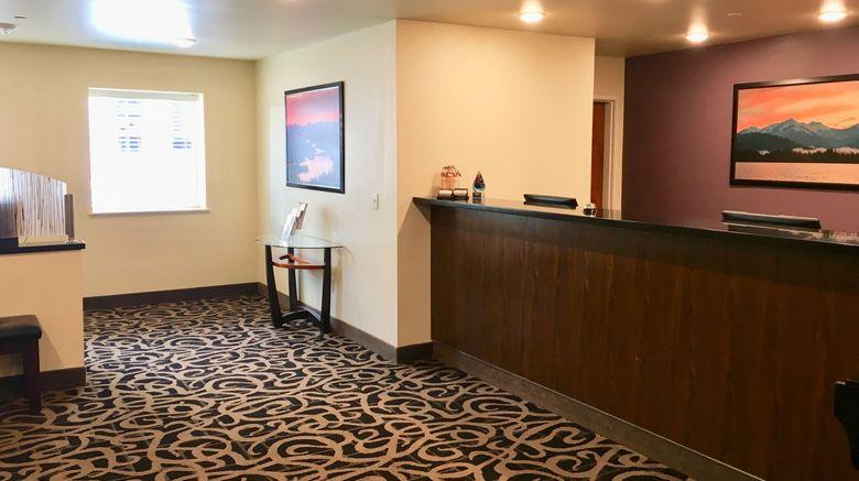 <b>Aspen Suites Hotel Sitka Lobby</b>