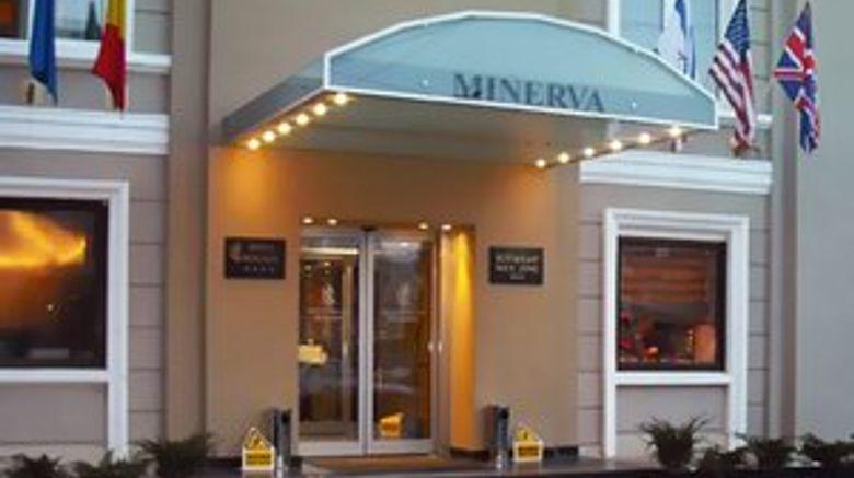 Minerva Hotel Exterior