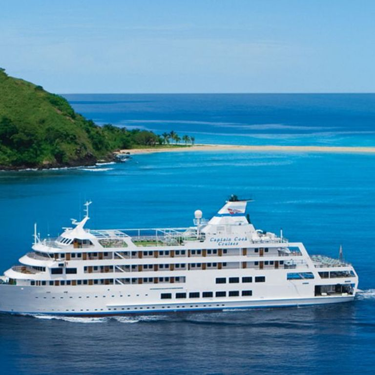 Captain Cook Cruises - Fiji Cruises & Ships