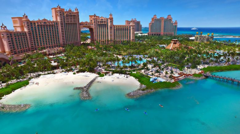 Atlantis, Paradise Island Resort Exterior