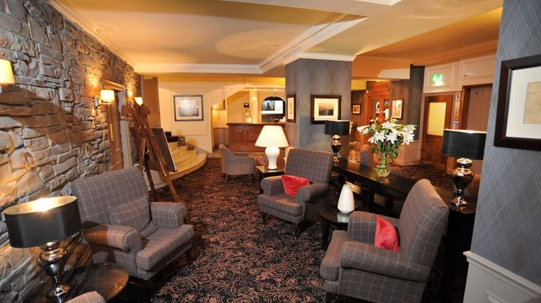 Golden Lion Hotel Lobby
