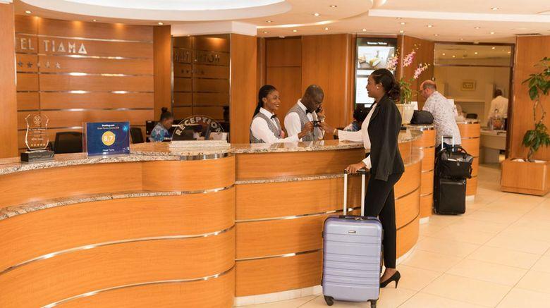 <b>Hotel Tiama Lobby</b>
