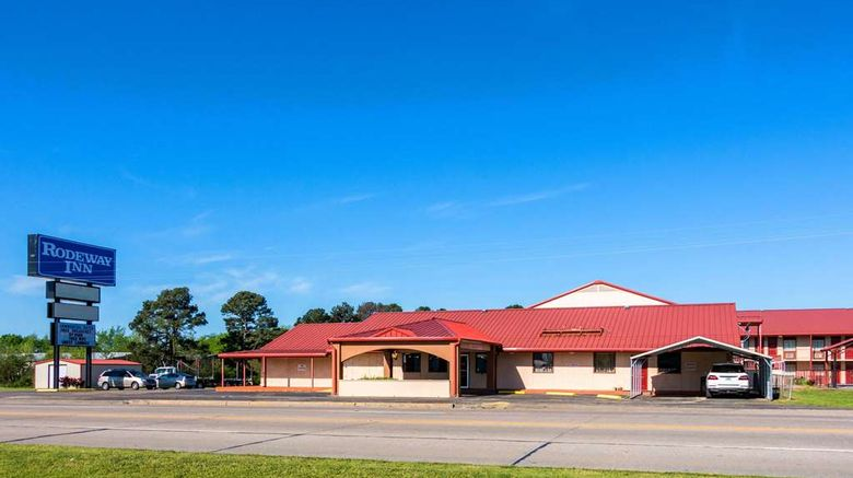 """Rodeway Broken Bow Inn  and  RV Park Exterior. Images powered by <a href=""""http://web.iceportal.com"""" target=""""_blank"""" rel=""""noopener"""">Ice Portal</a>."""