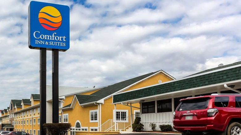 """Comfort Inn  and  Suites Nashville South Exterior. Images powered by <a href=""""http://web.iceportal.com"""" target=""""_blank"""" rel=""""noopener"""">Ice Portal</a>."""