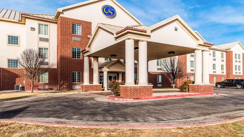 """Comfort Suites Amarillo Exterior. Images powered by <a href=""""http://web.iceportal.com"""" target=""""_blank"""" rel=""""noopener"""">Ice Portal</a>."""