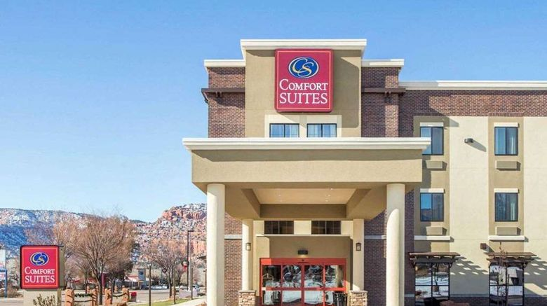 """Comfort Suites Kanab Exterior. Images powered by <a href=""""http://web.iceportal.com"""" target=""""_blank"""" rel=""""noopener"""">Ice Portal</a>."""