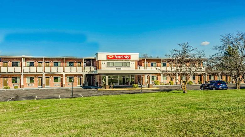 """Econo Lodge Lexington Exterior. Images powered by <a href=""""http://web.iceportal.com"""" target=""""_blank"""" rel=""""noopener"""">Ice Portal</a>."""