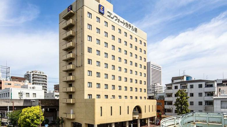 """Comfort Hotel Sakai Exterior. Images powered by <a href=""""http://web.iceportal.com"""" target=""""_blank"""" rel=""""noopener"""">Ice Portal</a>."""