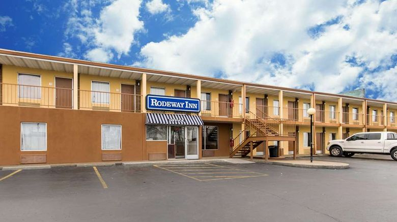 """Rodeway Inn Hopkinsville Exterior. Images powered by <a href=""""http://web.iceportal.com"""" target=""""_blank"""" rel=""""noopener"""">Ice Portal</a>."""