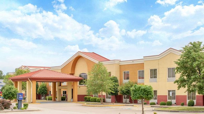 """Baymont Inn  and  Suites Marion Exterior. Images powered by <a href=""""http://web.iceportal.com"""" target=""""_blank"""" rel=""""noopener"""">Ice Portal</a>."""