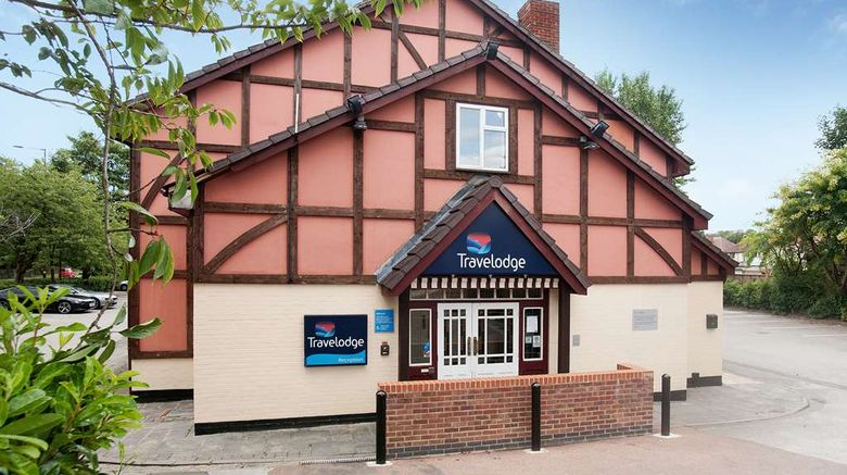 """Travelodge Birmingham Streetly Hotel Exterior. Images powered by <a href=""""http://web.iceportal.com"""" target=""""_blank"""" rel=""""noopener"""">Ice Portal</a>."""