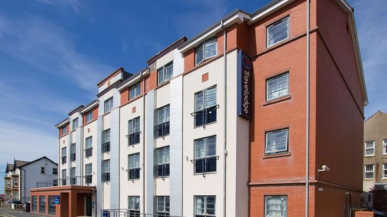 """Travelodge Blackpool South Promenade Exterior. Images powered by <a href=""""http://web.iceportal.com"""" target=""""_blank"""" rel=""""noopener"""">Ice Portal</a>."""