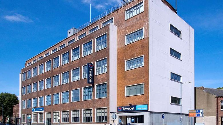 """Travelodge Carlisle Central Exterior. Images powered by <a href=""""http://web.iceportal.com"""" target=""""_blank"""" rel=""""noopener"""">Ice Portal</a>."""