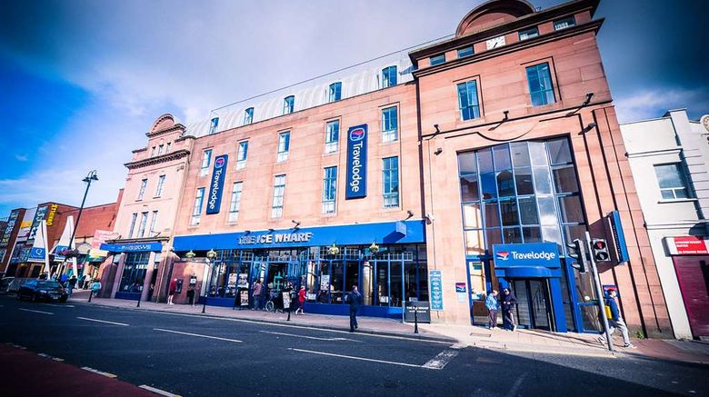 """Travelodge Derry City Exterior. Images powered by <a href=""""http://web.iceportal.com"""" target=""""_blank"""" rel=""""noopener"""">Ice Portal</a>."""