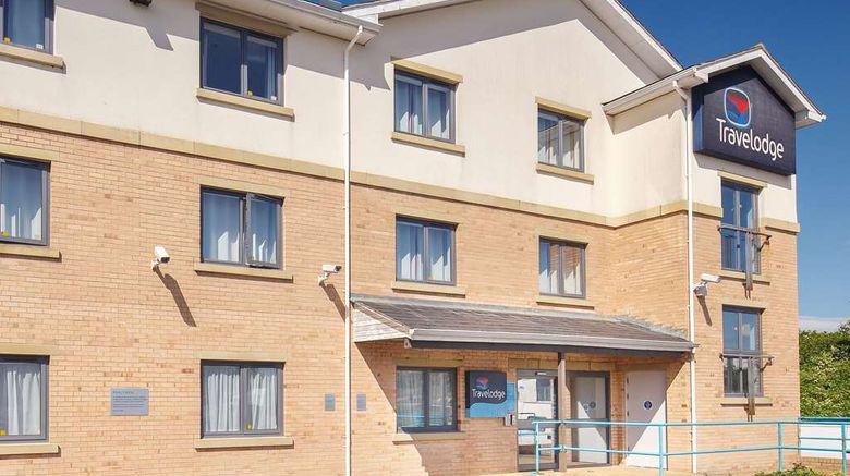 """Travelodge Holyhead Exterior. Images powered by <a href=""""http://web.iceportal.com"""" target=""""_blank"""" rel=""""noopener"""">Ice Portal</a>."""