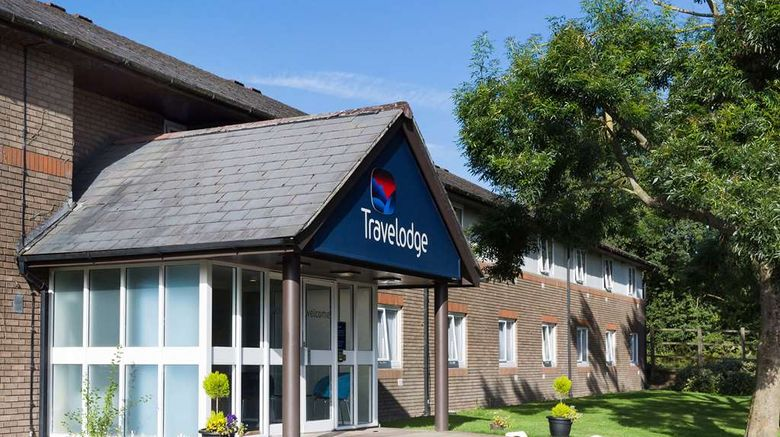 """Travelodge Leicester Markfield Exterior. Images powered by <a href=""""http://web.iceportal.com"""" target=""""_blank"""" rel=""""noopener"""">Ice Portal</a>."""
