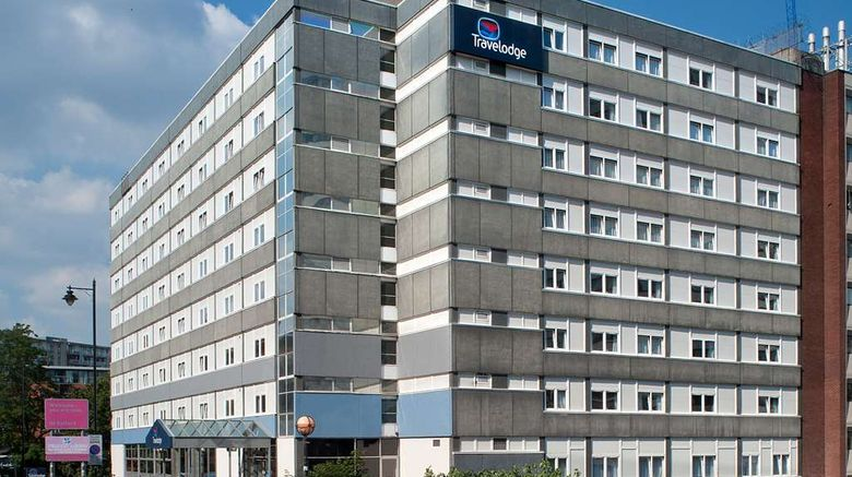 """Travelodge Manchester Central Exterior. Images powered by <a href=""""http://web.iceportal.com"""" target=""""_blank"""" rel=""""noopener"""">Ice Portal</a>."""