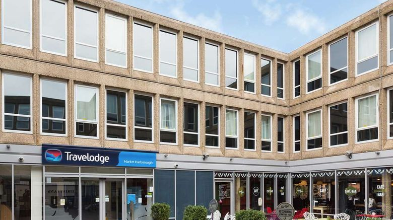 """Travelodge Market Harborough Exterior. Images powered by <a href=""""http://web.iceportal.com"""" target=""""_blank"""" rel=""""noopener"""">Ice Portal</a>."""