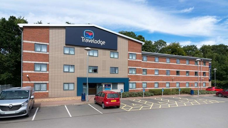 """Travelodge Stafford Central Exterior. Images powered by <a href=""""http://web.iceportal.com"""" target=""""_blank"""" rel=""""noopener"""">Ice Portal</a>."""