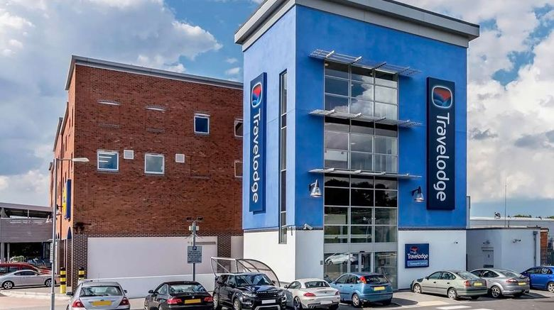 """Travelodge Tamworth Central Exterior. Images powered by <a href=""""http://web.iceportal.com"""" target=""""_blank"""" rel=""""noopener"""">Ice Portal</a>."""