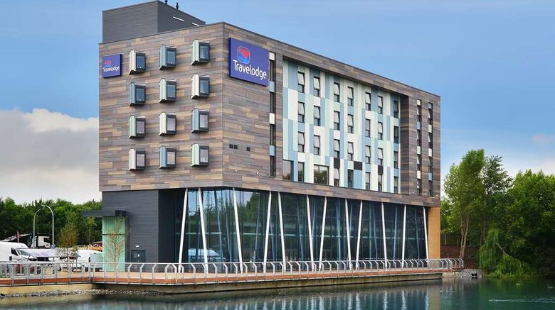"""Travelodge Thurrock Lakeside Exterior. Images powered by <a href=""""http://web.iceportal.com"""" target=""""_blank"""" rel=""""noopener"""">Ice Portal</a>."""