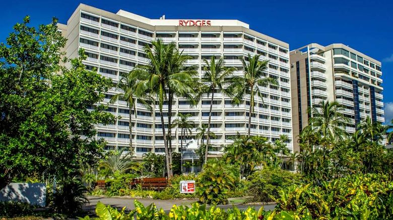 """Rydges Esplanade Resort Cairns Exterior. Images powered by <a href=""""http://web.iceportal.com"""" target=""""_blank"""" rel=""""noopener"""">Ice Portal</a>."""