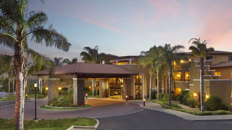 """Hilton Grand Vacations Club At MarBrisa Exterior. Images powered by <a href=""""http://web.iceportal.com"""" target=""""_blank"""" rel=""""noopener"""">Ice Portal</a>."""