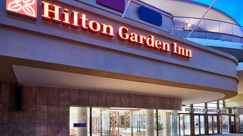 """<b>Hilton Garden Inn Lusaka Business Park Exterior</b>. Images powered by <a href=""""https://iceportal.shijigroup.com/"""" title=""""IcePortal"""" target=""""_blank"""">IcePortal</a>."""