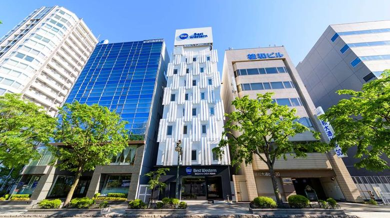 """Best Western Sapporo Odori Koen Exterior. Images powered by <a href=""""http://web.iceportal.com"""" target=""""_blank"""" rel=""""noopener"""">Ice Portal</a>."""