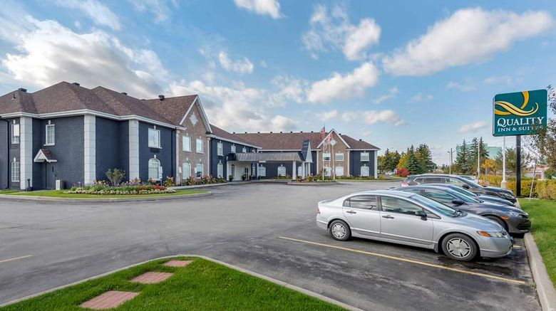"""Quality Inn  and  Suites Oakville, ON Exterior. Images powered by <a href=""""http://web.iceportal.com"""" target=""""_blank"""" rel=""""noopener"""">Ice Portal</a>."""