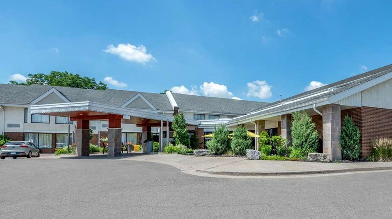 """Quality Inn  and  Suites Brampton Exterior. Images powered by <a href=""""http://web.iceportal.com"""" target=""""_blank"""" rel=""""noopener"""">Ice Portal</a>."""
