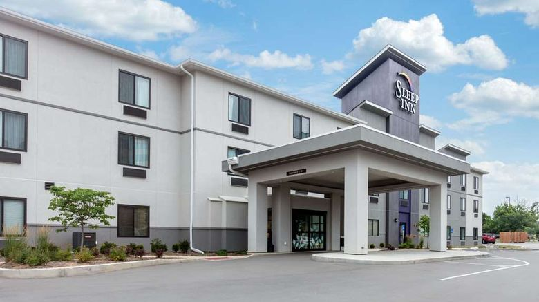 """Sleep Inn St Louis - Airport Exterior. Images powered by <a href=""""http://web.iceportal.com"""" target=""""_blank"""" rel=""""noopener"""">Ice Portal</a>."""