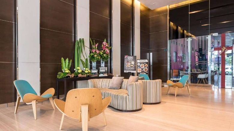 """Ramada Suites Kuala Lumpur City Centre Lobby. Images powered by <a href=""""http://web.iceportal.com"""" target=""""_blank"""" rel=""""noopener"""">Ice Portal</a>."""
