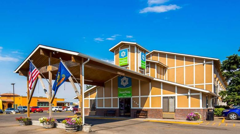 """SureStay Hotel - Best Western Twin Falls Exterior. Images powered by <a href=""""http://web.iceportal.com"""" target=""""_blank"""" rel=""""noopener"""">Ice Portal</a>."""