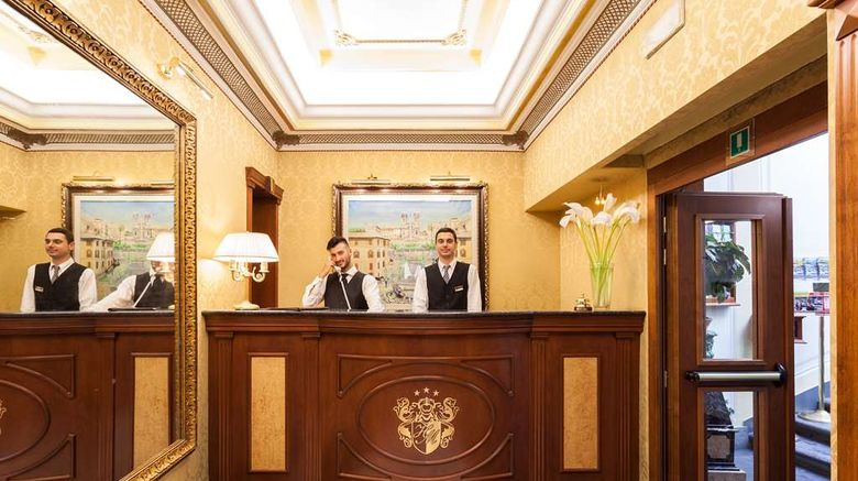 """Hotel Manfredi Lobby. Images powered by <a href=""""http://web.iceportal.com"""" target=""""_blank"""" rel=""""noopener"""">Ice Portal</a>."""
