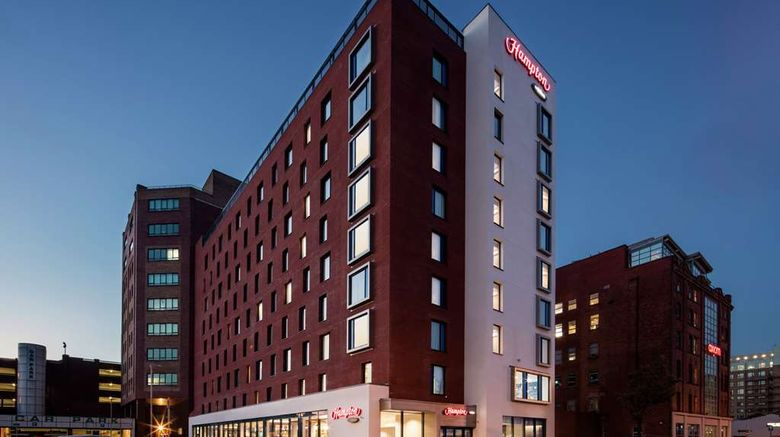 """Hampton by Hilton Belfast City Centre Exterior. Images powered by <a href=""""http://web.iceportal.com"""" target=""""_blank"""" rel=""""noopener"""">Ice Portal</a>."""