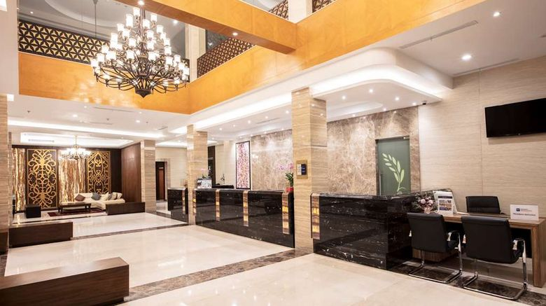 """Best Western Kindai Hotel Lobby. Images powered by <a href=""""http://web.iceportal.com"""" target=""""_blank"""" rel=""""noopener"""">Ice Portal</a>."""