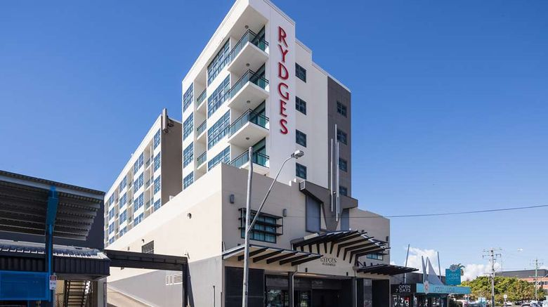 """Rydges Mackay Suites Exterior. Images powered by <a href=""""http://web.iceportal.com"""" target=""""_blank"""" rel=""""noopener"""">Ice Portal</a>."""