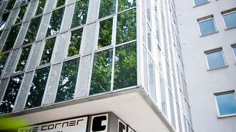 """The Corner Hotel Frankfurt Exterior. Images powered by <a href=""""http://web.iceportal.com"""" target=""""_blank"""" rel=""""noopener"""">Ice Portal</a>."""