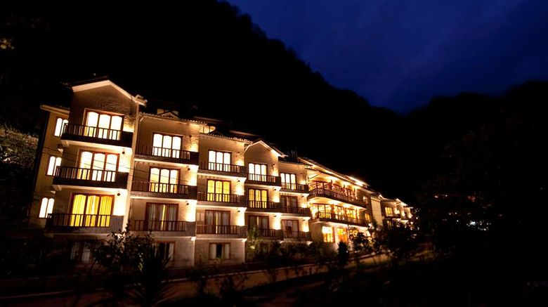 """Sumaq Machu Picchu Hotel Exterior. Images powered by <a href=""""http://web.iceportal.com"""" target=""""_blank"""" rel=""""noopener"""">Ice Portal</a>."""