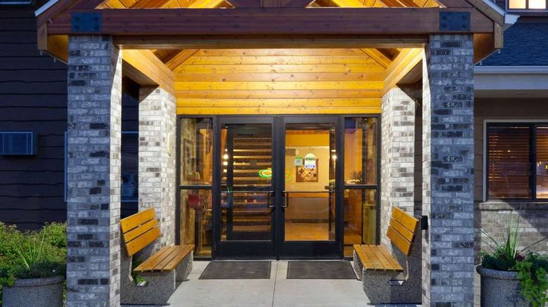 """AmericInn by Wyndham Roseau Exterior. Images powered by <a href=""""http://web.iceportal.com"""" target=""""_blank"""" rel=""""noopener"""">Ice Portal</a>."""