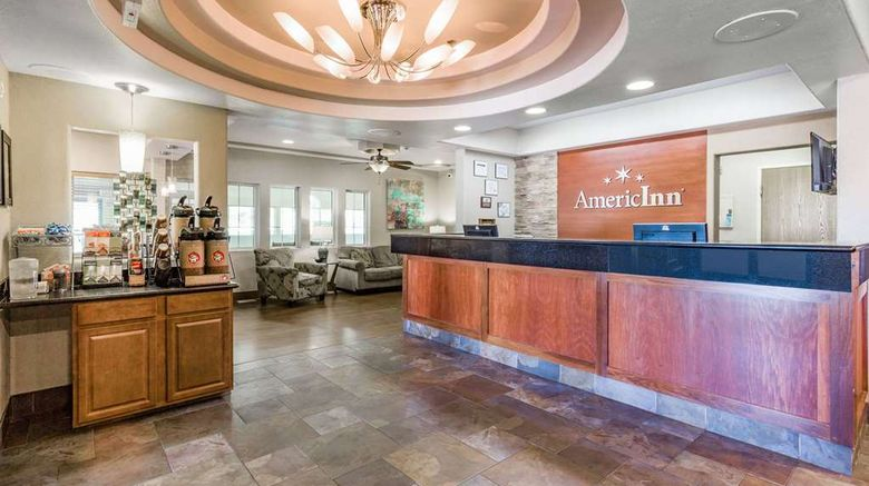 """AmericInn by Wyndham Des Moines Lobby. Images powered by <a href=""""http://web.iceportal.com"""" target=""""_blank"""" rel=""""noopener"""">Ice Portal</a>."""