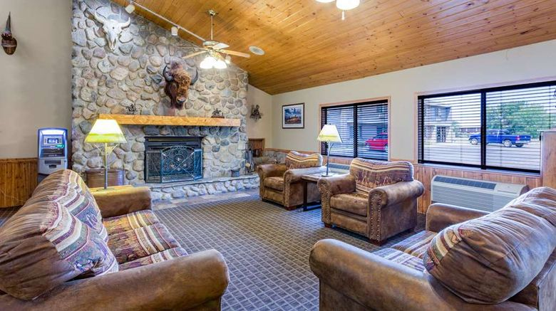 """AmericInn by Wyndham Medora Lobby. Images powered by <a href=""""http://web.iceportal.com"""" target=""""_blank"""" rel=""""noopener"""">Ice Portal</a>."""